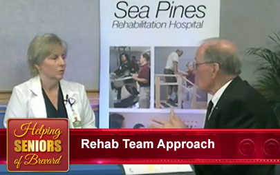Helping Seniors - The Rehab Hospital Team Approach