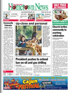 Hometown News - February 20 2015