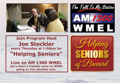Helping Seniors Radio on AM 1300 WMEL