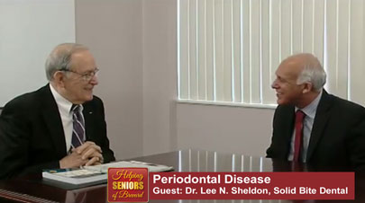 Helping Seniors TV Guest Periodontist Dr. Lee Sheldon