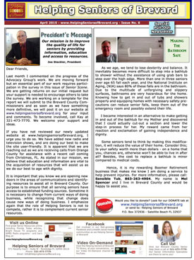 Helping Seniors April 2015 Newsletter