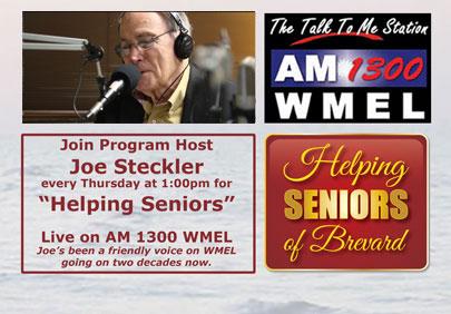 "Joe Steckler ""Helping Seniors"" on the Radio"