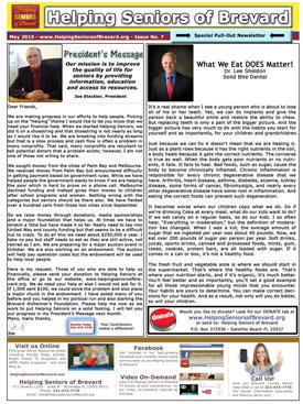 April 2015 Helping Seniors Newsletter