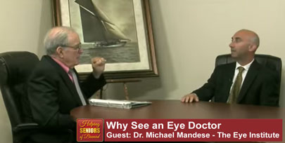 Why See an Eye Doctor - Helping Seniors