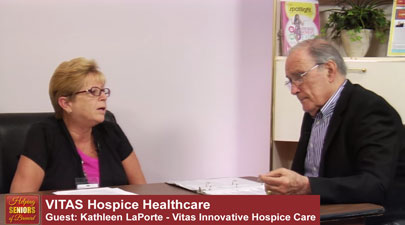 Helping Seniors on Vitas Hospice Care