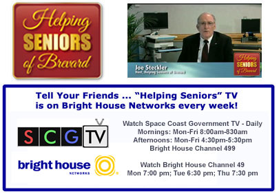 Joe Steckler - Helping Seniors TV