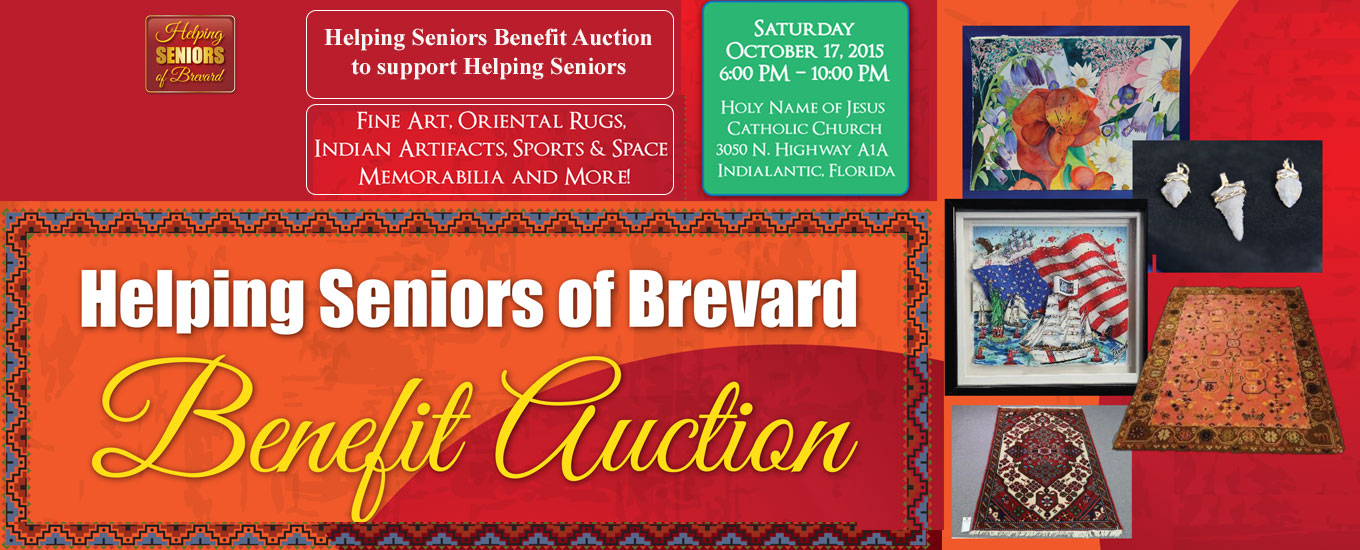 Helping Seniors Benefit Auction