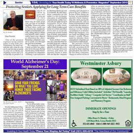 Protecting Seniors - Ebony News Today - September 2015