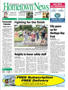 Hometown News - September 18 2015