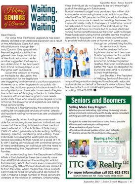 Helping Seniors - September 2015