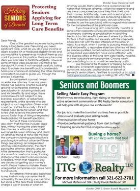 Protecting Seniors - Senior Scene October 2015