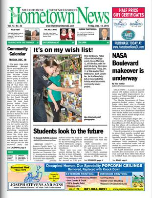 Hometown News - December 19 2015