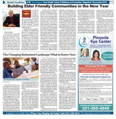 Helping Seniors in Ebony News Today - December 2015
