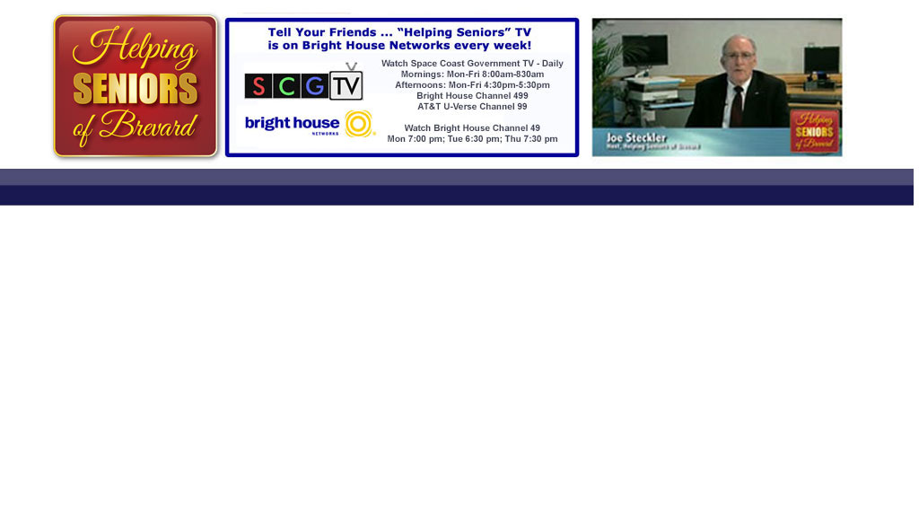 Helping Seniors Television