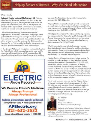 Helping Seniors in Spotlight Magazine