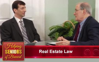 Helping Seniors TV - Real Estate Law