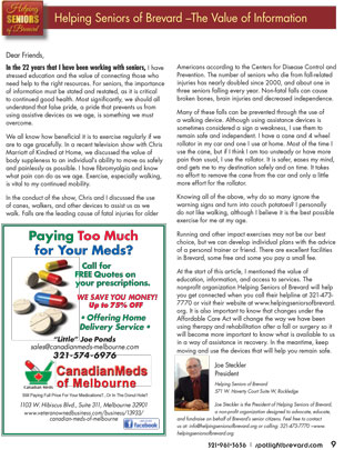 Spotlight Magazine - Helping Seniors - March 2016