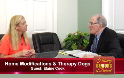 Helping Seniors TV - Home Modifications & Therapy Dogs