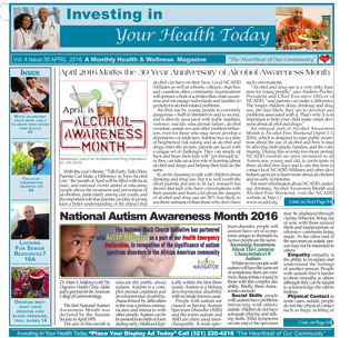 Ebony News Today - Investing in Your Health - April 2016