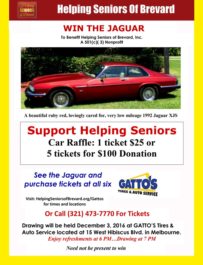"Helping Seniors ""Win the Jaguar"""