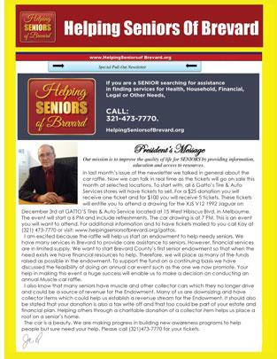 Helping Seniors Newsletter 2016