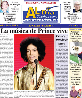 Al Dia Today - May 2016