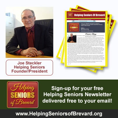 Helping Seniors Newsletter SignUp