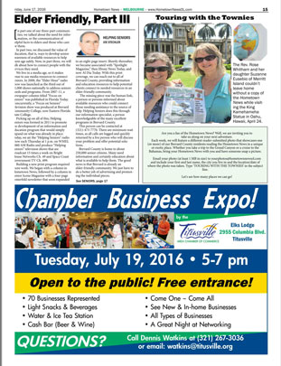 Hometown News (Helping Seniors) - June 2016