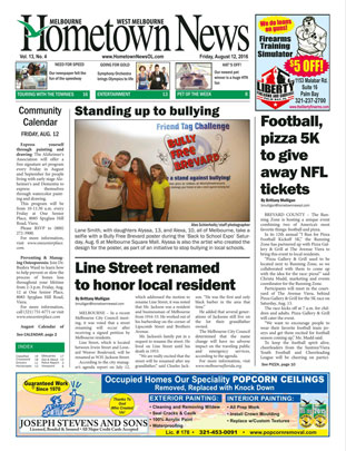 Hometown News - August 2016