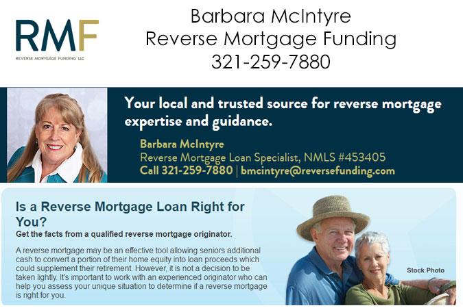 Barbara McIntyre - Reverse Mortgage Funding