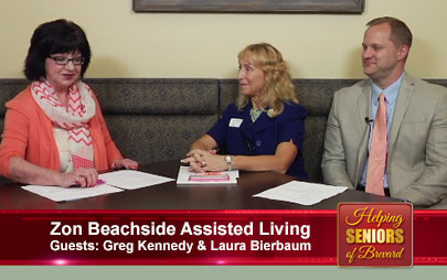 Helping Seniors - Zon Beachside Assisted Living