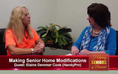 Helping Seniors - Making Senior Home Modifications