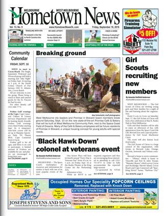 Hometown News - September 17 2016