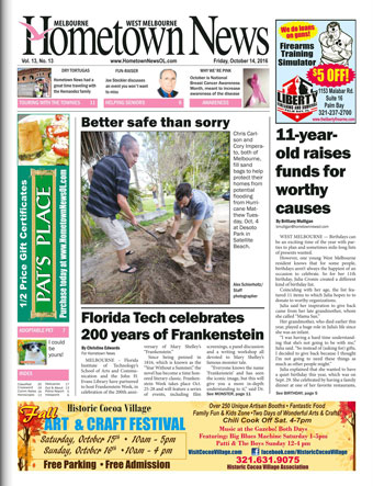 Hometown News - October 8 2016
