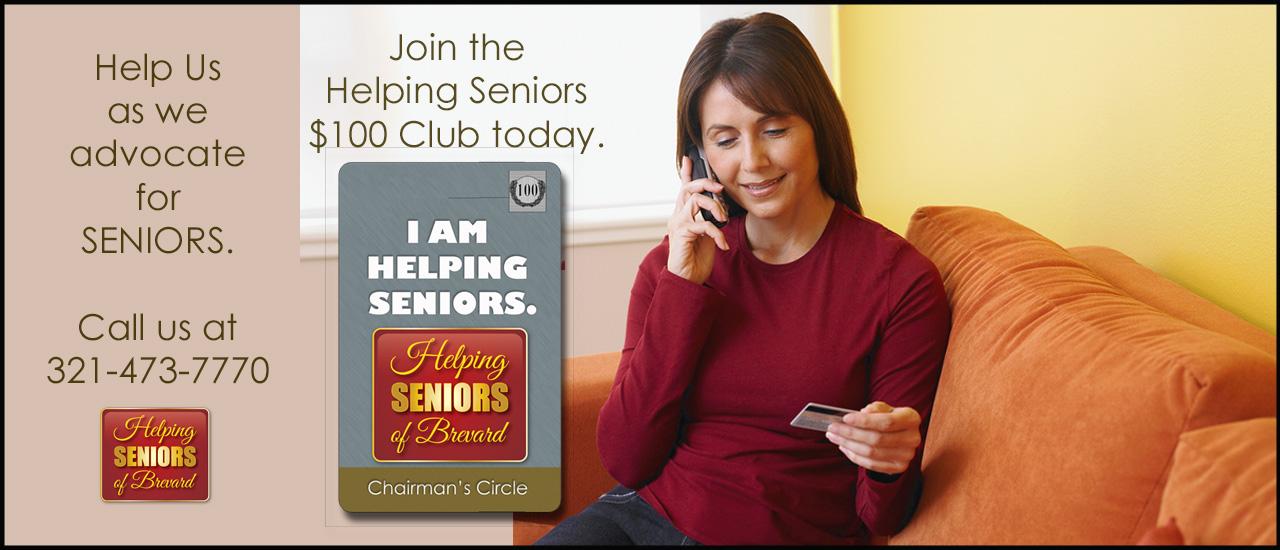 Helping Seniors $100 Club
