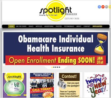 Spotlight Website