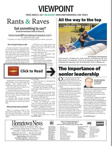 Hometown News Helping Seniors