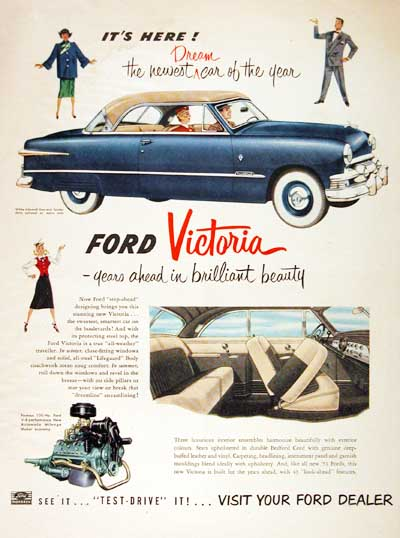 1951 Ford Coupe Vintage