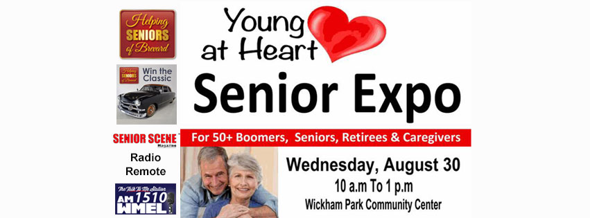 YOUNG HEART SENIORS EXPO With Win The Classic Helping Seniors - Wickham park car show melbourne fl