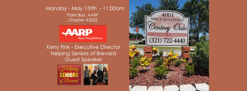 Kerry Fink to speak at AARP #2622 Lunch