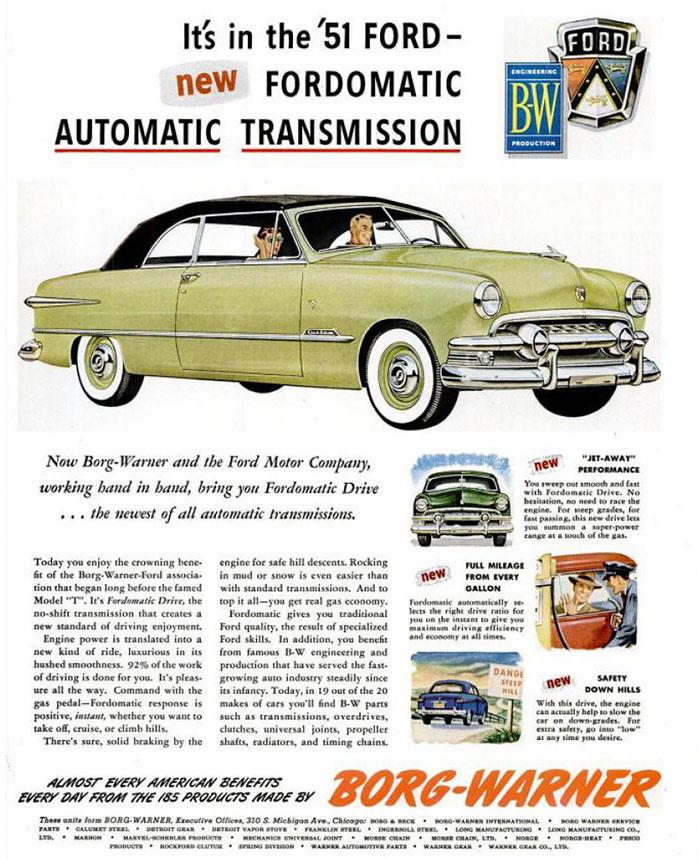 Fordomatic-Transmission