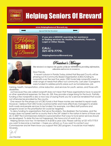 May 2015 Helping Seniors Newsletter