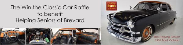 Helping Seniors - Win the Classic Car Raffle