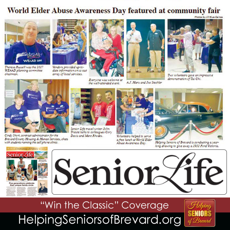 Senior Life WEAAD Coverage