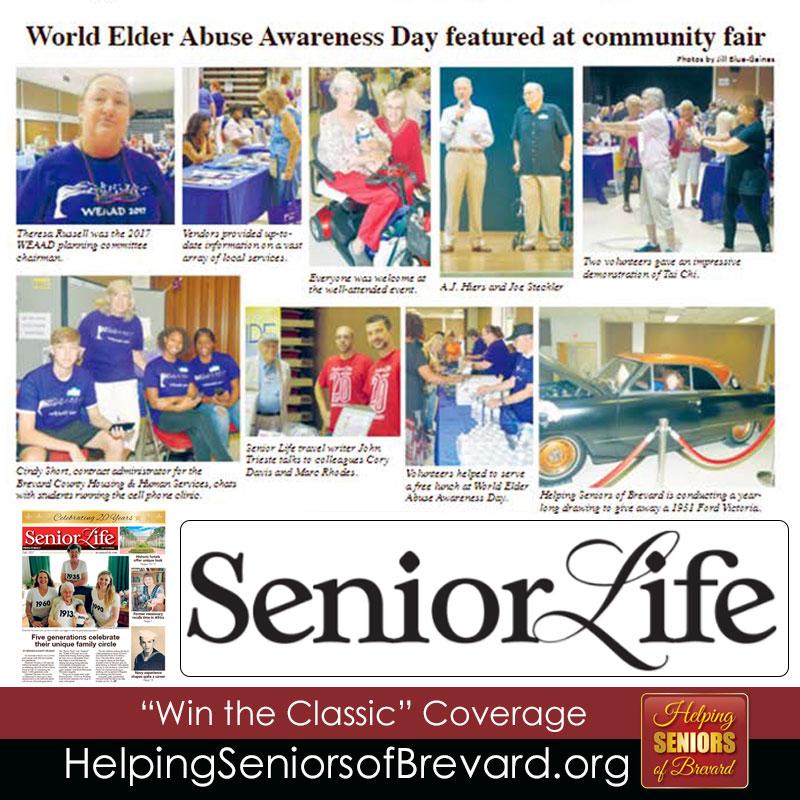 Senior Life WEAAD Coverage