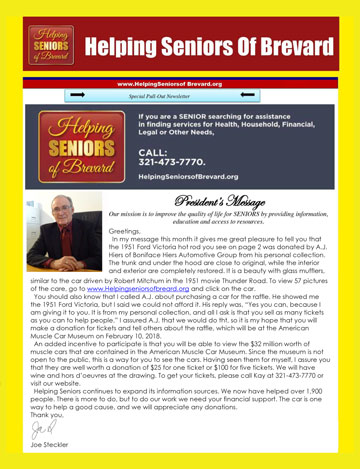 June 2017 Helping Seniors Newsletter