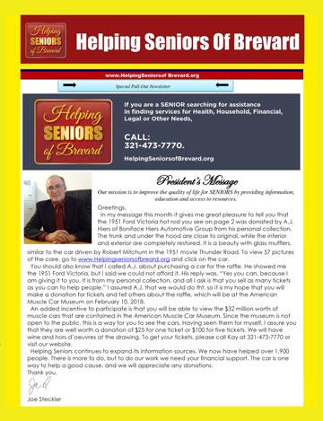 June 2017 Helping Seniors Newsletter
