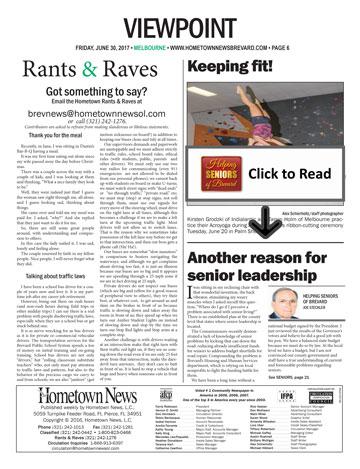 Helping Seniors Hometown News