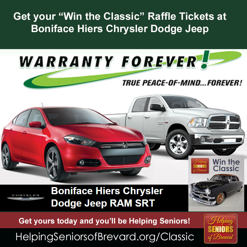 Get tickets at Boniface-Hiers Chrysler Dodge Jeep