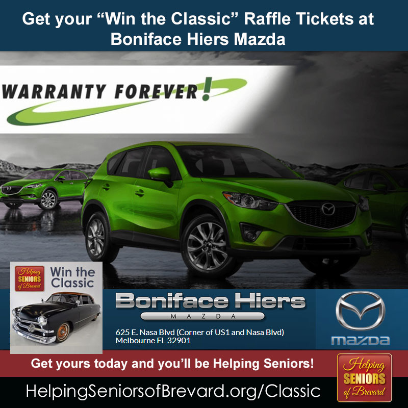 Get tickets at Boniface-Hiers Mazda